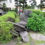 熊本教会の石燈籠